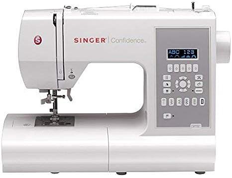 SINGER Confidence - Máquina de coser (Gris, Blanco, Máquina de ...
