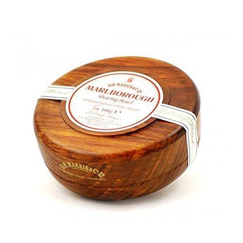 D R Harris Marlborough Shaving Soap in Mahogany Bowl (100 g) by D R Harris