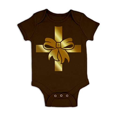 Present Costume Baby Grow - Chocolate 12 - 18 Months (Reindeer Baby Costume)