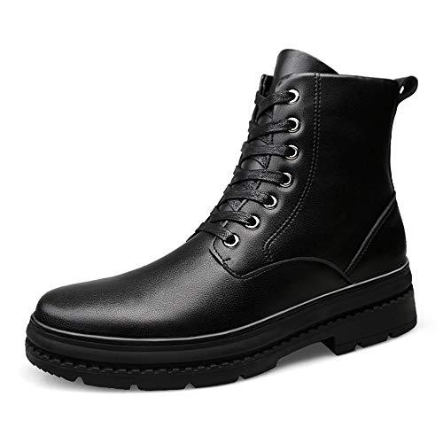 40 Alti Warm Con Black Alla Da warm shoes Scarpe Matte Uomo Nero Jiuyue color Velluto Stivaletti Opzionale Impermeabile Stivali Moda 2018 Dimensione Martellina Casual Eu 8UBWR4Rnz