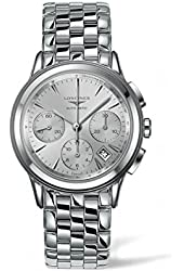 Longines Flagship Silver Dial Chronograph Automatic Mens Watch L48034726