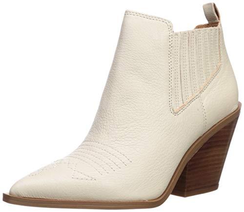 Franco Sarto Women's CAVALLARIE Fashion Boot, Ivory, 7 M US