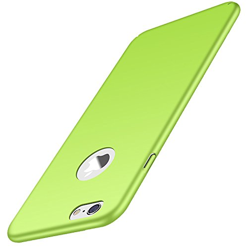 Anccer iPhone 6s Plus Case [Ultra-Thin] [Anti-Stain] [Anti-Drop] Premium Material Slim Full Protection Cover for iPhone 6 Plus 5.5'' (Smooth Grass Green)