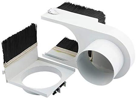 WITHOUT BRAND 1pc 80mm Durchmesser Staubfänger Staubschutz-Bürste for CNC Spindelmotor-Fräsmaschine Fräser-Werkzeuge