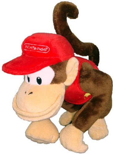 Plush Puppets Super (Nintendo Official Super Mario Diddy Kong Plush, 6