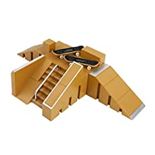 Skate Park Skatepark Ramp Parts For Tech Deck Finger Board #B