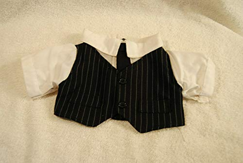 Build A Bear Doll Suit Vest With Tie Clothes Workshop Outfit from Geek Out Books