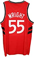 d84787337 Delon Wright Toronto Raptors Signed Autographed Red  55 Custom Jersey.  Loading Images.