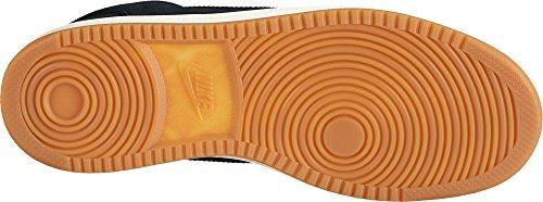 Nike Court Borough Mid Prem Größe (Variation) 40.5, Größenschema 40.5, Variationsfarbe Schwarz, Farbschema Schwarz