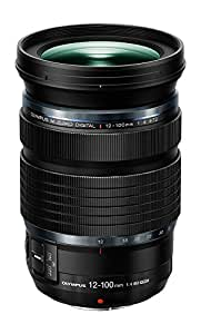 Olympus M.Zuiko Digital ED 12-100mm f4.0 PRO Lens, Black