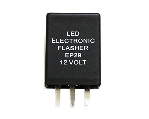 4-Pin EP29 LED Flasher Relay For Chevy Silverado Suburban 2500 Turn Signal Lamps