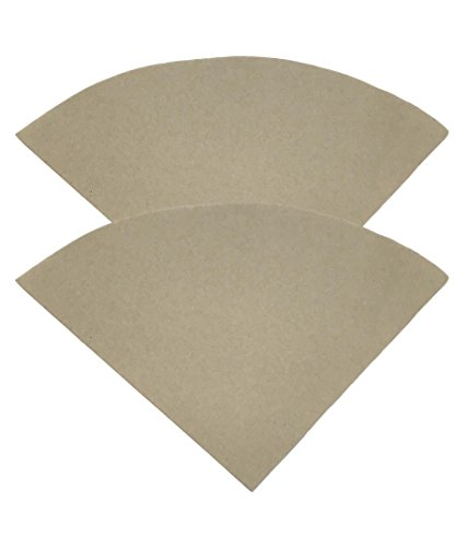 6 coffee filters unbleached - 6