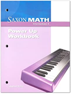 Saxon math intermediate 4 written practice workbook saxon saxon math intermediate 4 power up workbook fandeluxe Gallery