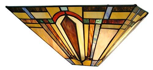 Fine Art Lighting Tiffany Wall Sconce, Multi Color