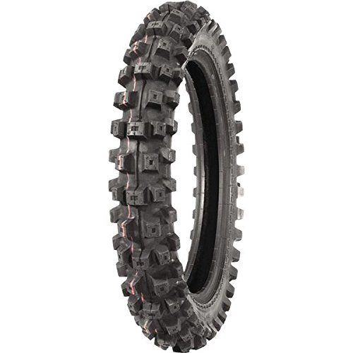 IRC Volcanduro VE33 Tire - Rear - 100/90-19 , Position: Rear, Load Rating: 57, Tire Size: 100/90-19, Rim Size: 19, Speed Rating: M, Tire Type: Offroad, Tire Application: Intermediate T10174 by IRC
