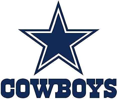 dallas cowboys star aufkleber, cowboys-logo: amazon.de: küche & haushalt  amazon.de