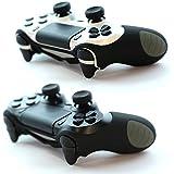 2 X Paxo silicone custodia / cassa nero per PS4 controller