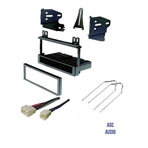 ASC Audio Car Stereo Dash Kit, Wire Harness, and Radio Tool to Install a Single Din Aftermarket Radio for select Ford Lincoln Mazda Mercury Vehicles - Compatible Vehicles Listed Below (Car Head Unit Installation Kit)
