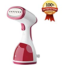 Portable Garment Clothes Steamer for Removing Stubborn Wrinkles - 260ml Travel Size HandHeld Garments Steamers with High Capacity for Better Ironing at Home and Traveling - Best Fabric Steam