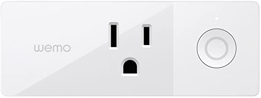 Wemo Mini Smart Plug, Wi-Fi Enabled (Works with chicanoeats.info Alexa) - White - F7C063fc
