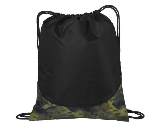 Port Authority Patterned Cinch Pack, Camouflage