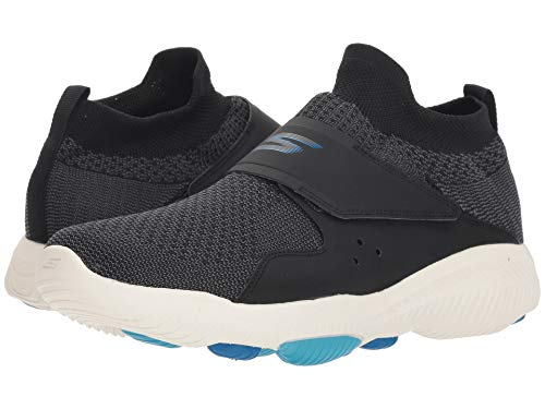 [SKECHERS(スケッチャーズ)] メンズスニーカー?ランニングシューズ?靴 Go Walk Revolution Ultra Revolve Black/Blue 10.5 (28.5cm) D - Medium