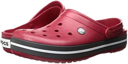 Unisex Zoccoli Crocband Crocs Rosso pepper Adulto – wTUzxn