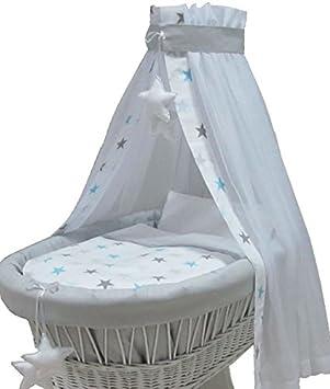 Babymajawelt Ersatz Bett Set Für Stubenwagen 7 Teile Bettwäsche