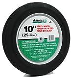 Arnold Ball Bearing Steel Wheel Rib Tread 10'' X 1.75'' 80 Lbs. Max. Load Bulk
