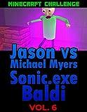 Minecraft Challenge Comics: Jason Vs Michael Myers