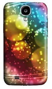 Samsung S4 Case Dream circle color 3D Custom Samsung S4 Case Cover WANGJING JINDA