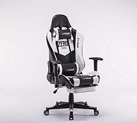 Surprising Extreme Pro Gaming Chair White Buy Online At Best Price In Theyellowbook Wood Chair Design Ideas Theyellowbookinfo