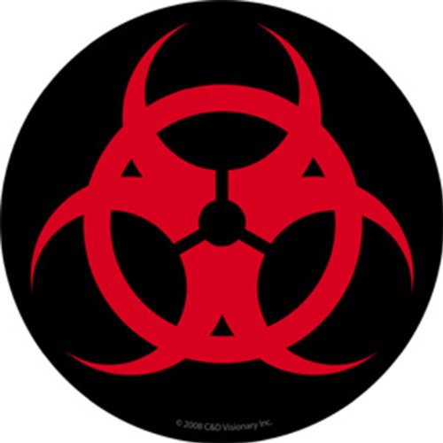 Licenses Products Generic Biohazard Sticker