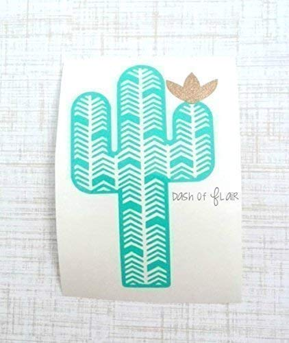 Cactus Vinyl Decal Sticker for Yeti Cup, Car Decal, Laptop, Wall, Tumbler, or Water Bottle