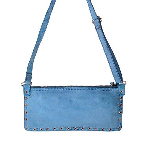 Dudu - Sac porté épaule - TImeless - Mini Bag - Agata Bleu - Femme