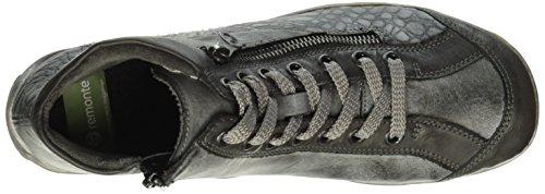 Remonte R3465, Zapatillas Altas para Mujer Gris (fumo/asphalt/Grau / 47)