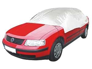 APA 38502 - Funda parcial para coche (talla L, nailon, 292 x 147 x 61 cm)