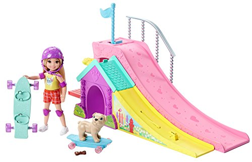 Barbie Club Chelsea Flips & Fun Skate Ramp Playset by Barbie