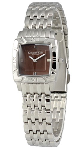 Kenneth Cole New York Women's Brown Analog Watch Steel Bracelet KC4469