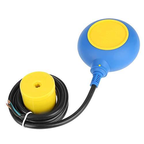 Liquid Fluid Water Level Sensor, 220V 16A 2m / 78.7inch Float Switch Liquid Fluid Water Level Sensor Controller for Tank Pump