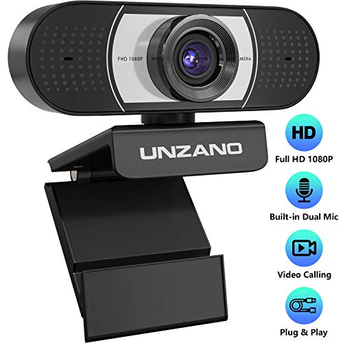 Unzano HD Webcam 1080p