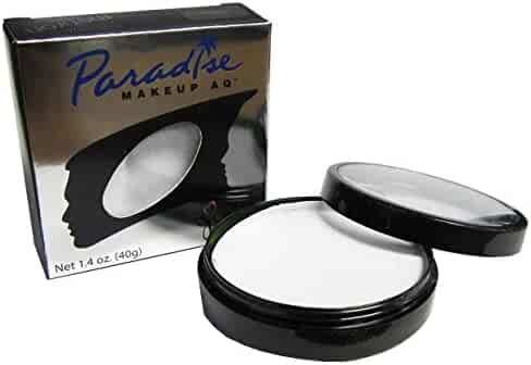 Paradise Makeup Aq 40g Face & Body Paint (White)