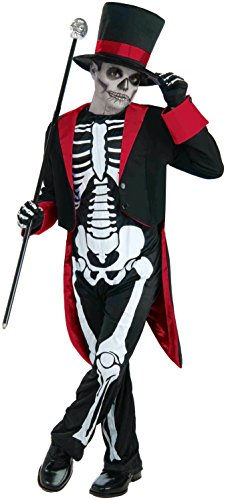 Forum Novelties Mr. Bone Jangles Costume, Large