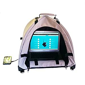LapDome - Portable Sun Shade & Weather Protecting Carrying Case for Laptop / Tablet / Cell Phone