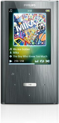Philips GoGear Ariaz 8 GB MP3 Player (Silver)
