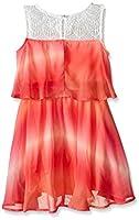 Zunie Girls' Ombre Chiffon Popover Dress...