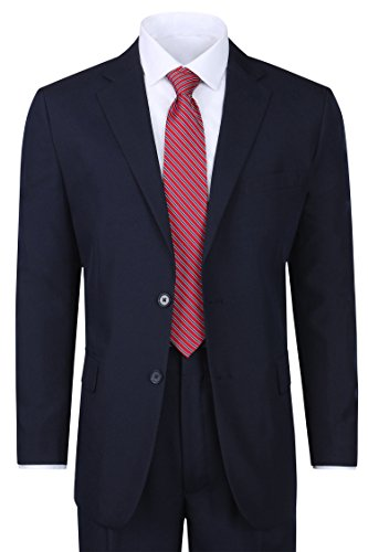 Men's Classic 2 Button Suit - Regular Fit