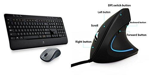 Logitech MK520 Wireless Keyboard and Mouse Combo — Keyboar