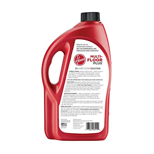 Hoover ah30420nf hard floor cleaner solution multi floor for Hoover multi floor cleaner