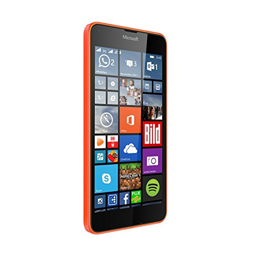 Microsoft Lumia 640 XL 8GB Unlocked GSM Quad-Core WIndows Smartphone w/ 13MP Camera - Orange